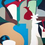 Malerei 1984 - 1996 Acryl auf Büttenpapier, 80 x120, 1993