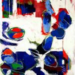 Malerei 1984 - 1996 Öl auf Büttenpapier, 80 x 120
