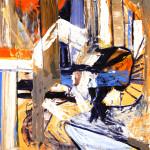 Malerei 1984 - 1996 Öl auf Büttenpapier, 80 x120