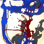 Malerei 1984 - 1996 Öl auf Büttenpapier, 60 x 80