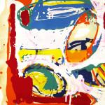 Ölmalerei 1984 - 1996 Öl auf Büttenpapier 80 x 120